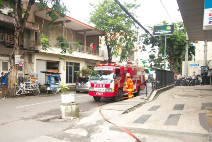 Siaga Hadapi Bencana, RSMG Lakukan Simulasi Kebakaran