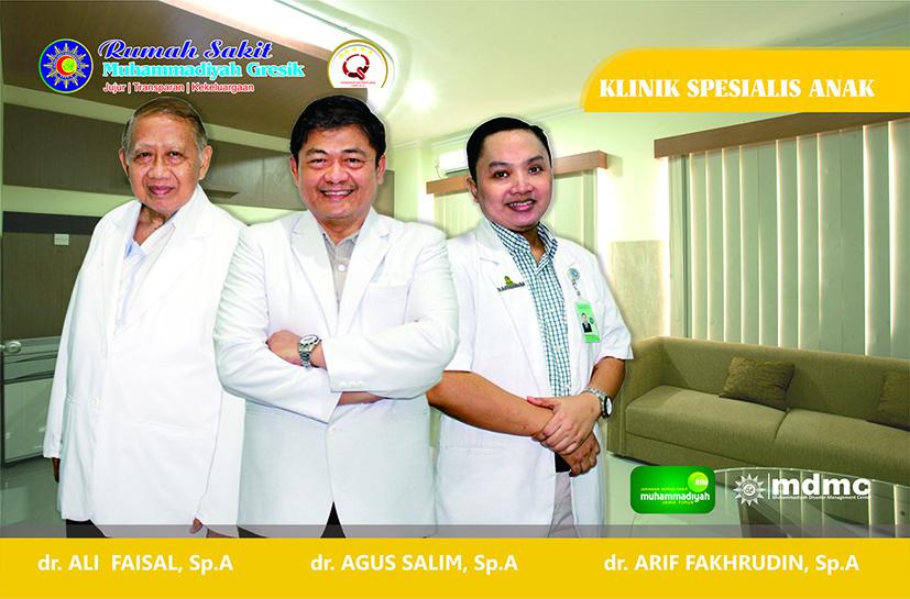 Dokter Spesialis Anak RS Muhammadiyah Gresik