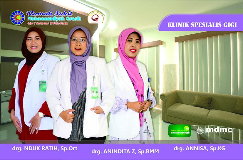 Dokter Spesialis Gigi RS Muhammadiyah Gresik