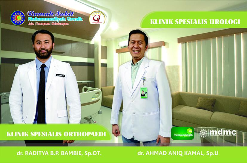 Dokter Spesialis Orthopaedi & Urologi RS Muhammadiyah Gresik