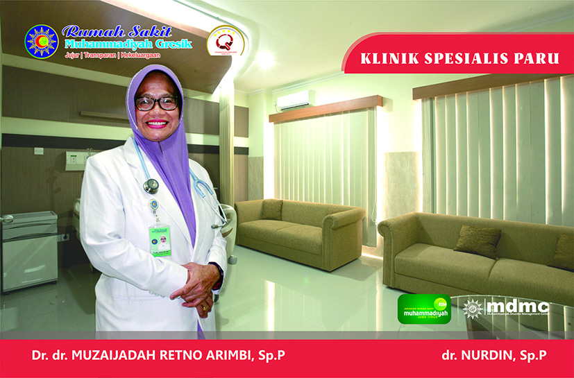 Dokter Spesialis Paru RS Muhammadiyah Gresik