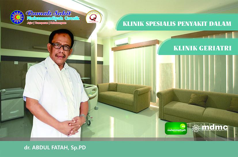 Dokter Spesialis Penyakit Dalam & Geriatri RS Muhammadiyah Gresik
