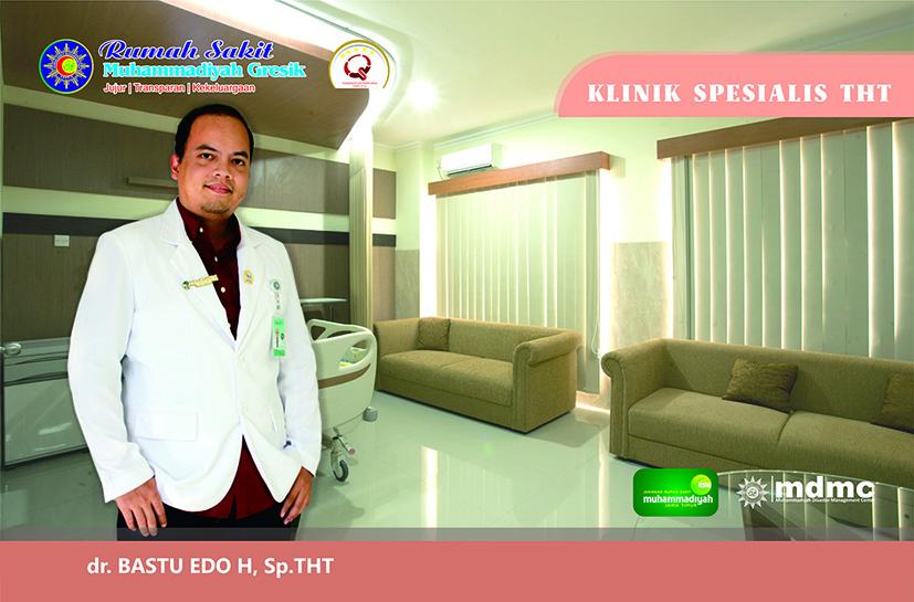 Dokter Spesialis THT RS Muhammadiyah Gresik